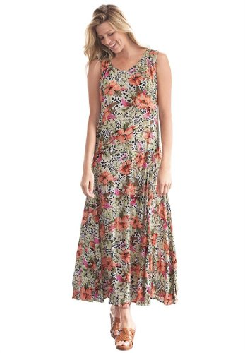 Click here to buy this plus size maxi dress