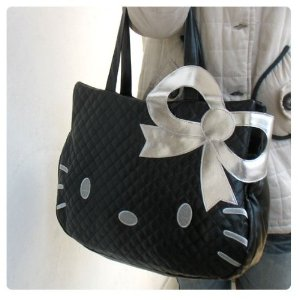 Hello Kitty Leather-Like Tote Bag