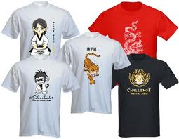 Printing a t-shirt design
