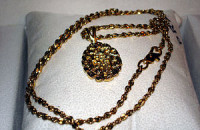 18 or more karat gold jewelry is an example of...