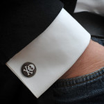 Wedding Skull Cufflinks