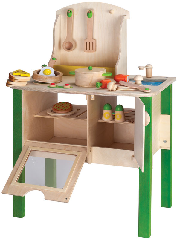 Wood Kids Kitchen - Kitchen Ideas